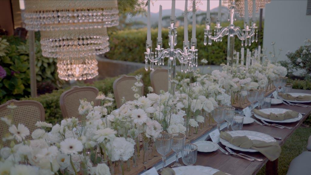 mise en place wedding tableau wedding idea inspiration