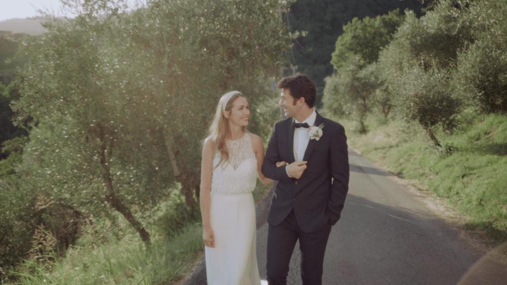 intimate wedding Tuscany video
