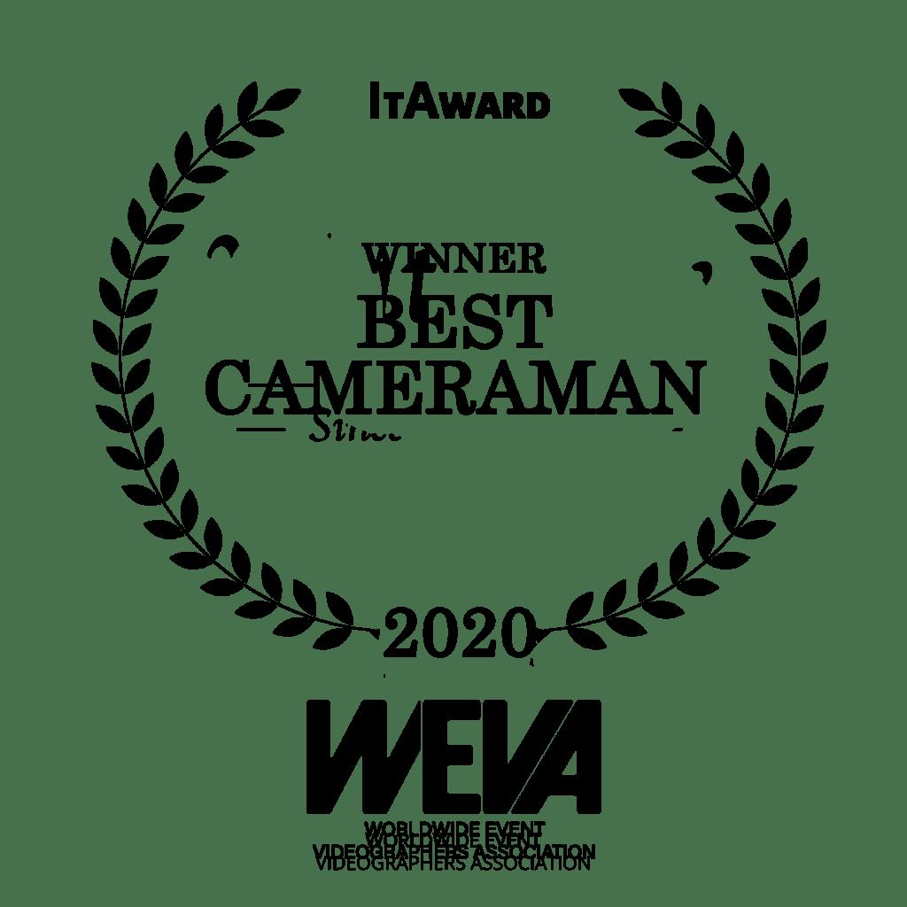 winner category best cameraman wedding awards