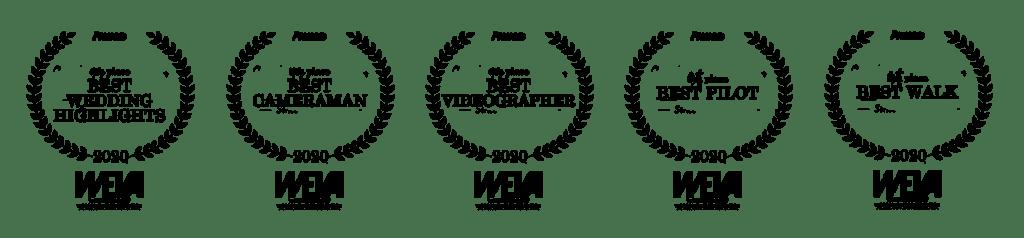 WEVA wedding awards best videographer best video best cameraman videografo matrimonio video premi prize