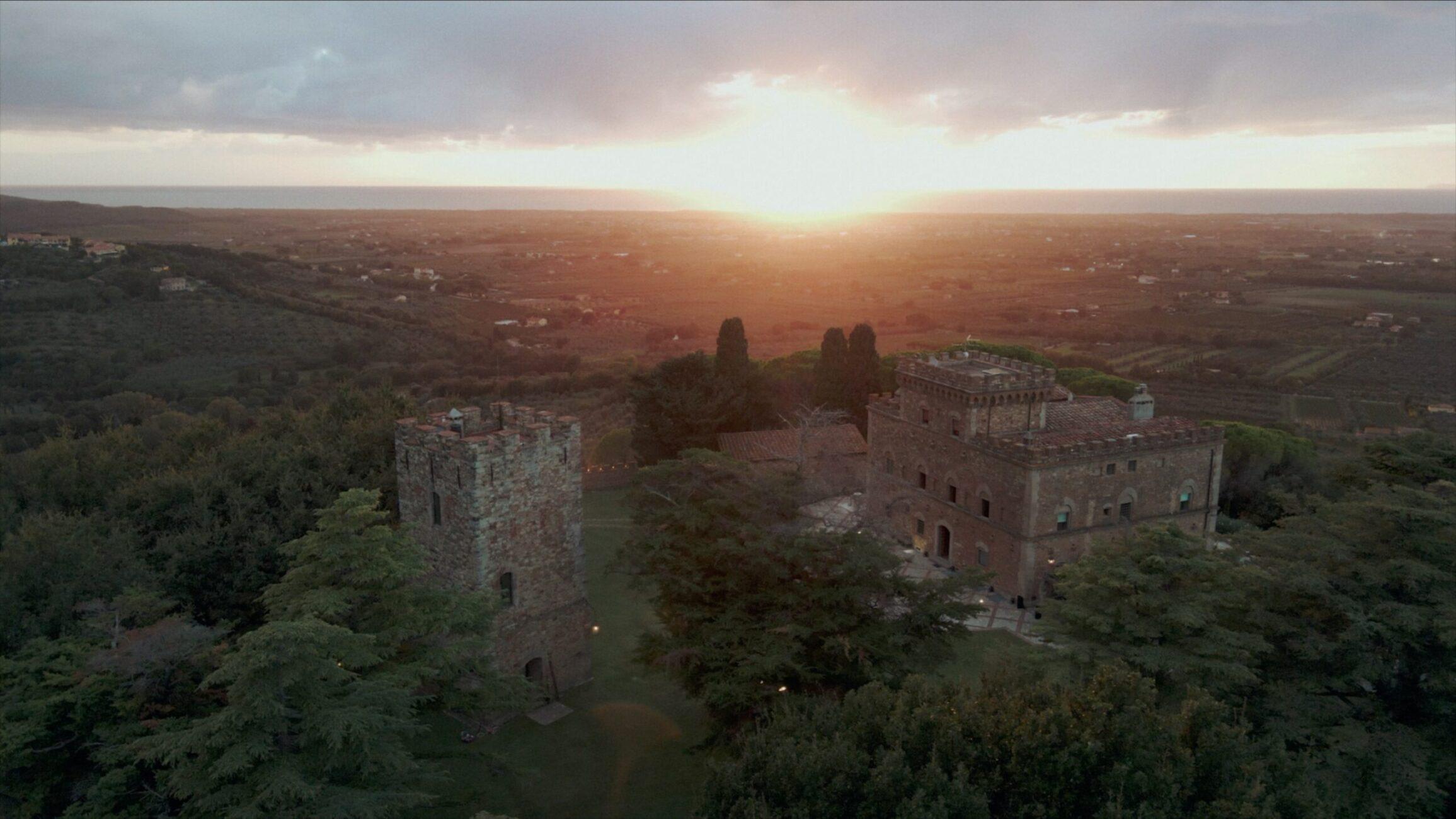 Matrimonio castello segalari toscana Tuscany wedding videographer Italian