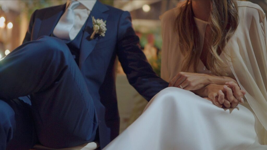 luxury wedding floral dinner emotional