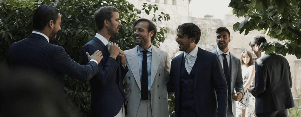 best video friends wedding