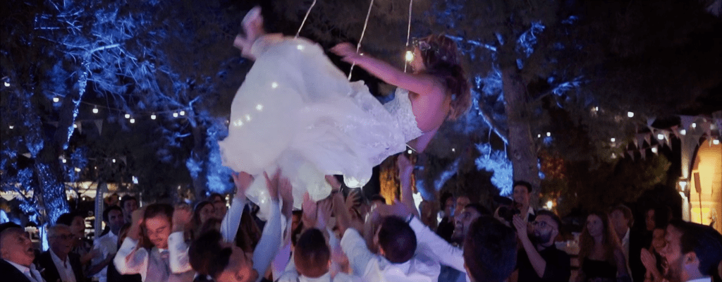 wedding party video